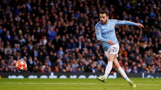 Bernardo Silva jadi salah satu tumpuan kesolidan Manchester City. (