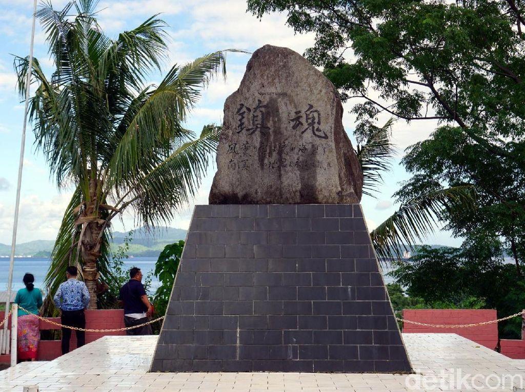 Foto: Tugu Jepang Tapi di Sulawesi Utara