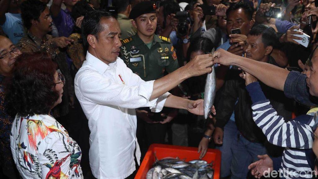 Sah! Jokowi Resmikan Pasar Ikan Modern Muara Baru