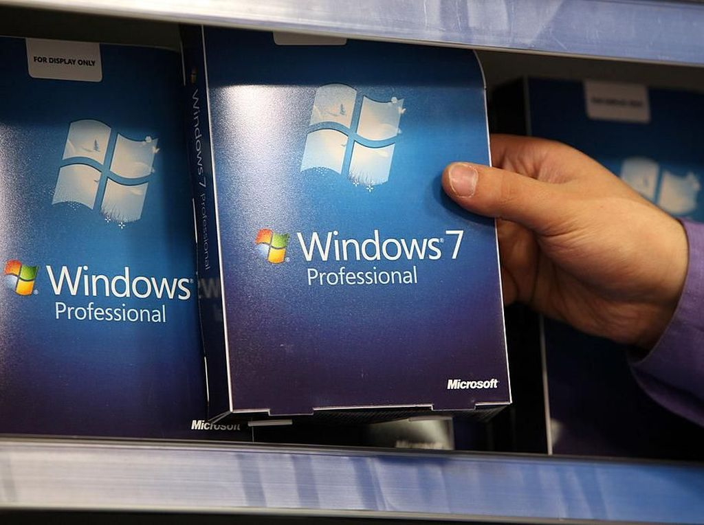 Banyak Pengguna Windows 7 Belum Move On ke Windows 10