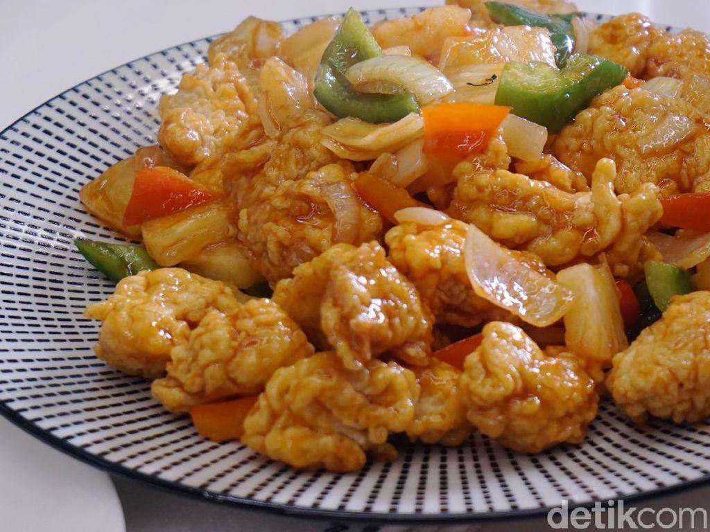 Resep Ayam Asam Manis Gaya Resto yang Juicy Enak
