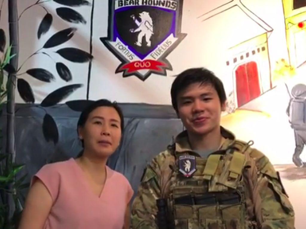 Sweet! Dukungan Veronica Tan untuk Bisnis Putra Tercinta