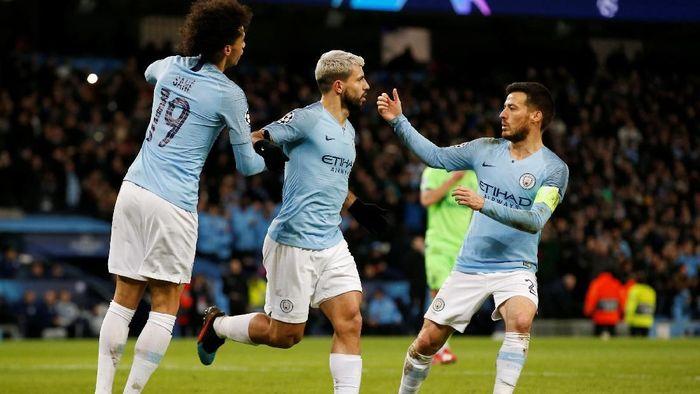 Hasil drawing perempatfinal Liga Champions mempertemukan Manchester City dengan Totttenham Hotspur (Foto: Andrew Yates/Reuters)