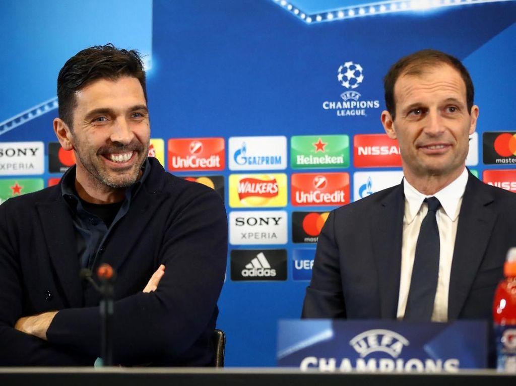 Demi Buffon, Allegri Mau Bawa Juventus ke Final Liga Champions