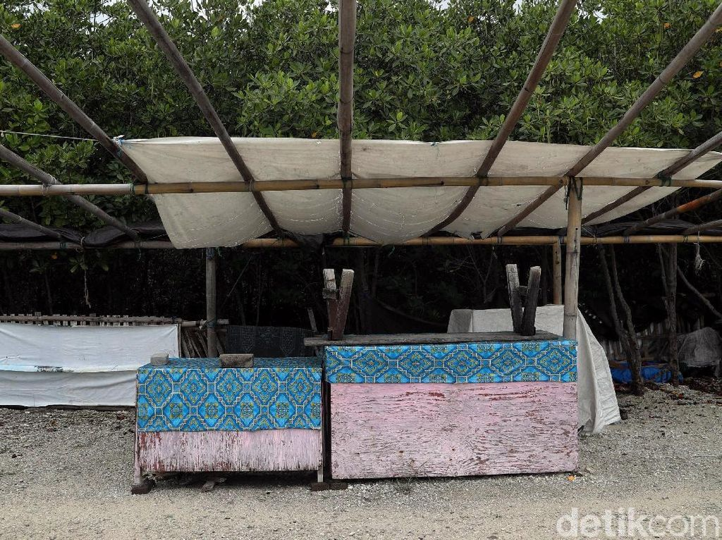 Sunyi Sepi Pantai Pulau Untung Jawa Usai Tsunami Banten
