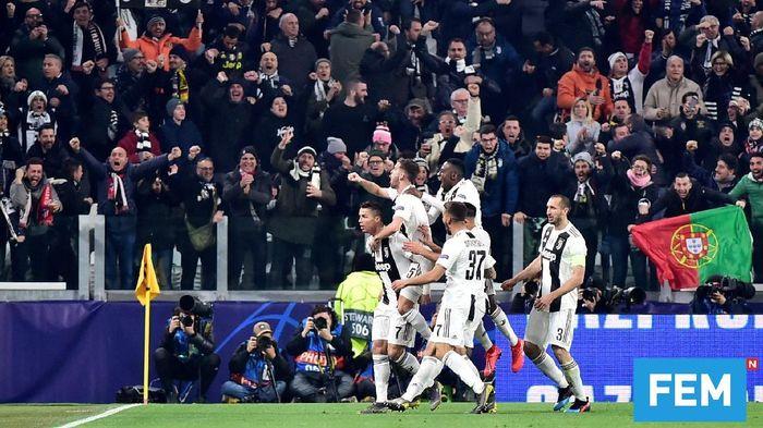Juventus dipertemukan dengan Ajax di perempatfinal Liga Champions (Foto: Massimo Pinca/Reuters)