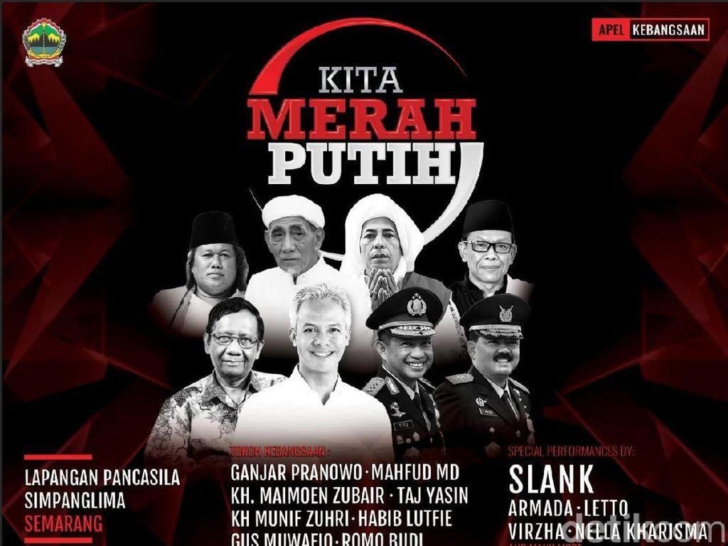 Tim Prabowo Cermati Apel Kebangsaan Pemprov Jateng Pakai APBD Rp 18 M
