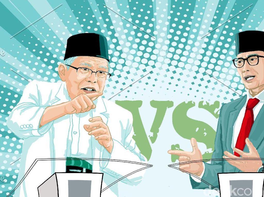 Maruf vs Sandiaga: Kelanjutan KIS vs Janji Cegah Defisit BPJS