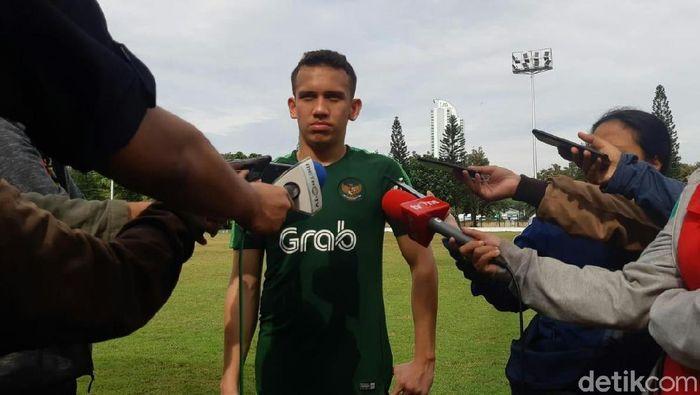 Egy Maulana Vikri bakal perkuat Indonesia di Kualifikasi Piala Asia U-23. (Foto: Amalia Dwi Septi/detikSport)