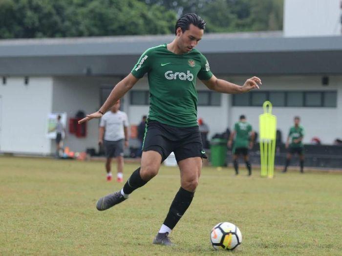 Pemain Timnas Indonesia U-23, Ezra Walian, yang terancam gagal bermain di Kualifikasi Piala Asia 2020. (Foto: dok. PSSI)