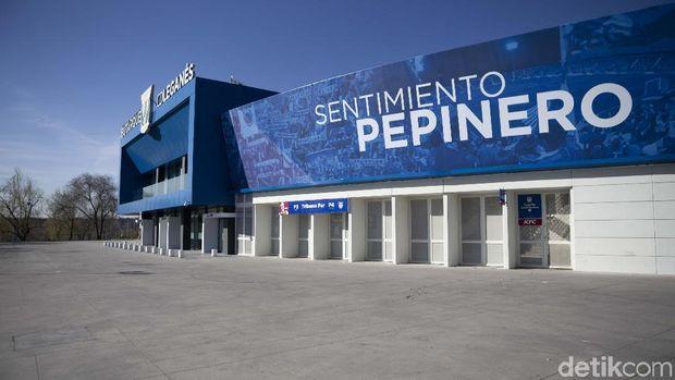 Municipal Butarque, Stadion Penuh Cinta di Pinggir Kota Madrid