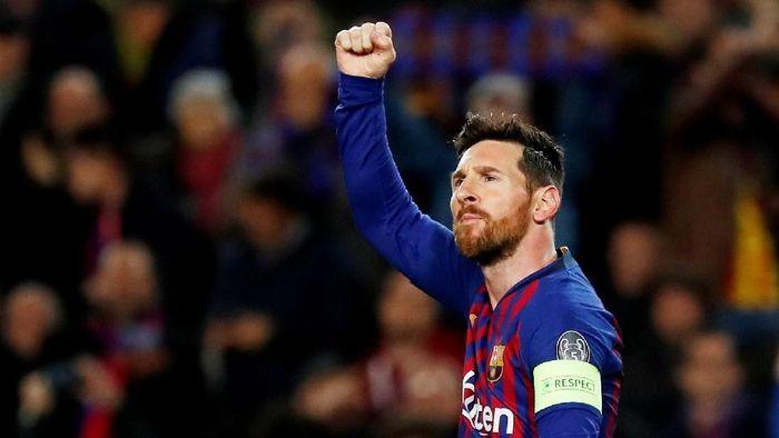 Paus Fransiskus menilai Lionel Messi memang bagus, tapi striker Barcelona itu bukanlah tuhan. (Foto: Susana Vera/Reuters)