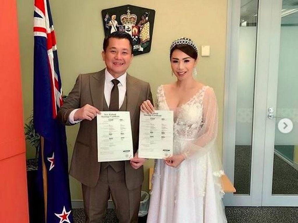 Selamat! Femmy Permatasari Resmi Menikah di Selandia Baru