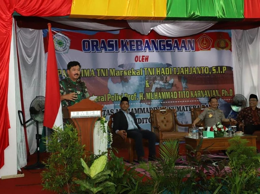 Canda Panglima TNI soal 3 Syarat Cowok Macho