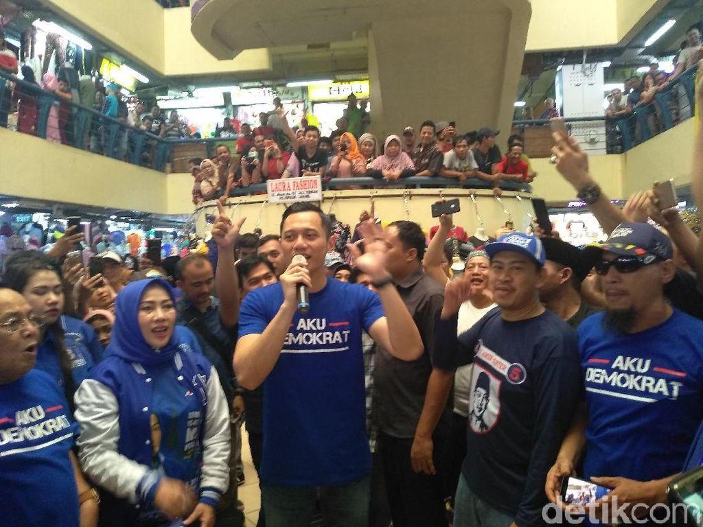 Saat AHY Nostalgia Soal SBY di Pasar Cipulir