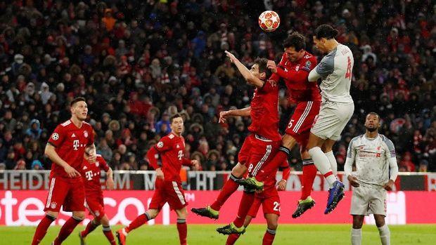 Hasil Liga Champions: Taklukkan Bayern 3-1, Liverpool Tembus Perempatfinal