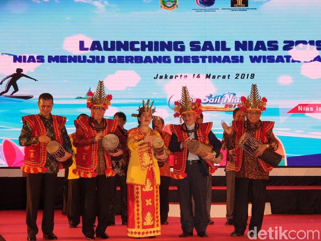 Menteri Puan Resmi Buka Sail Nias 2019, Saatnya Gaet Investor