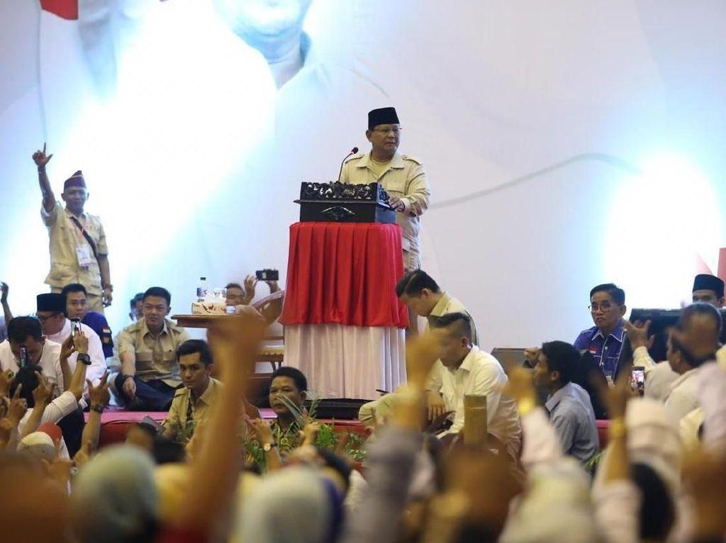 Prabowo: Elite Indonesia Gagal Kelola Negara Ini