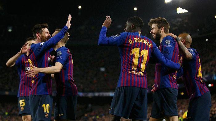 Barcelona mendapatkan pertanda juara? (Foto: Maja Hitij/Getty Images)
