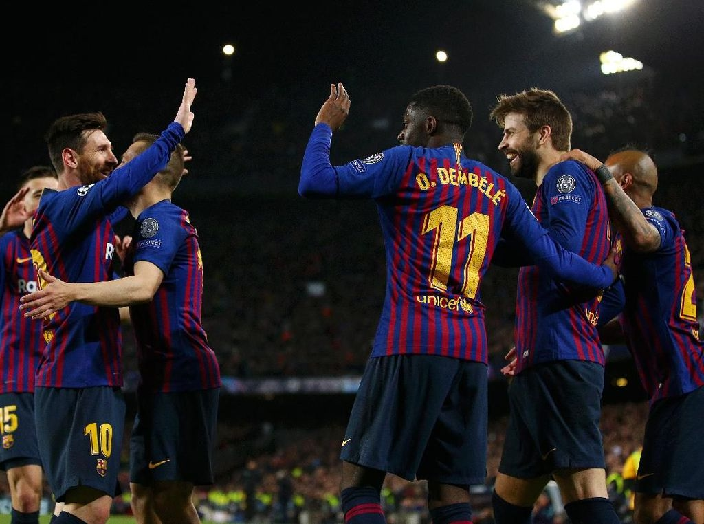 Tim-Tim Paling Produktif di Liga Champions 2018/2019