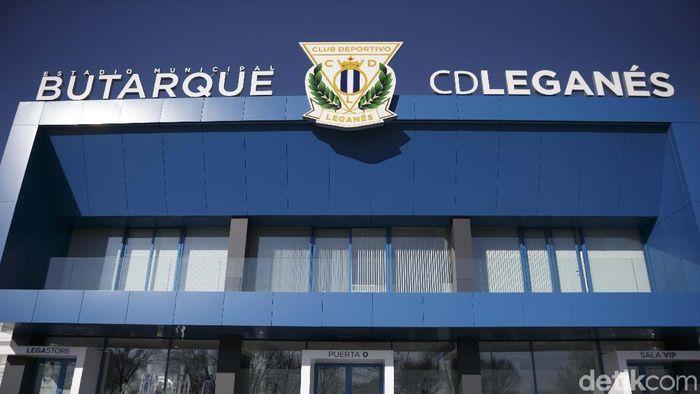 Estadion Butarque, kandang klub Leganes (Resha Pratama/detikSport)