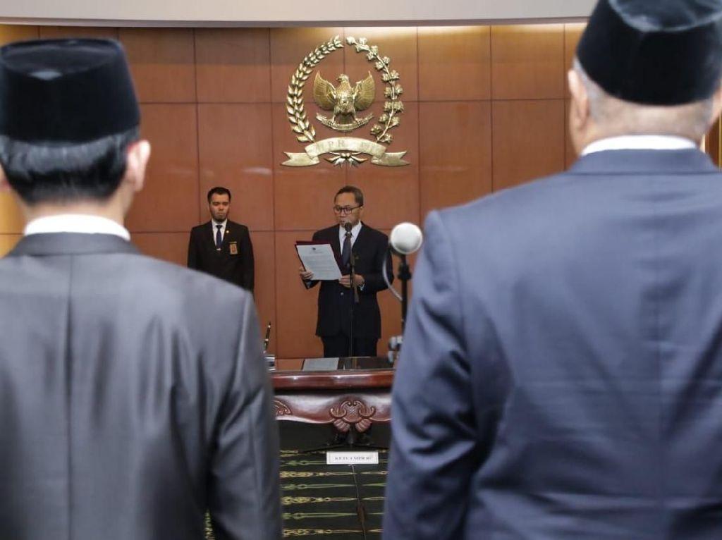Ketua MPR Ajak Anggota PAW Kawal Demokrasi Konstitusional