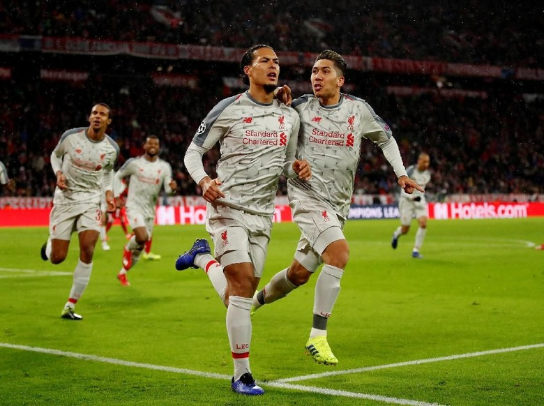 Bayern Liverpool Detail: Virgil Van Dijk Ancaman Liverpool Dari Bola Mati