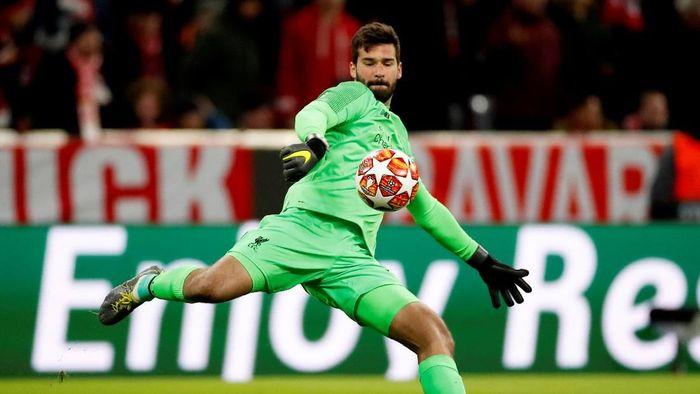 Alisson Becker yakin Liverpool juara Liga Champions bersama Juergen Klopp (Action Images via Reuters / Andrew Boyers)