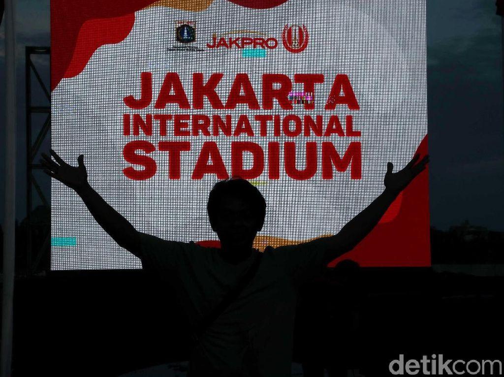 Anies Ingin Jakarta International Stadium Beri Dampak Ekonomi