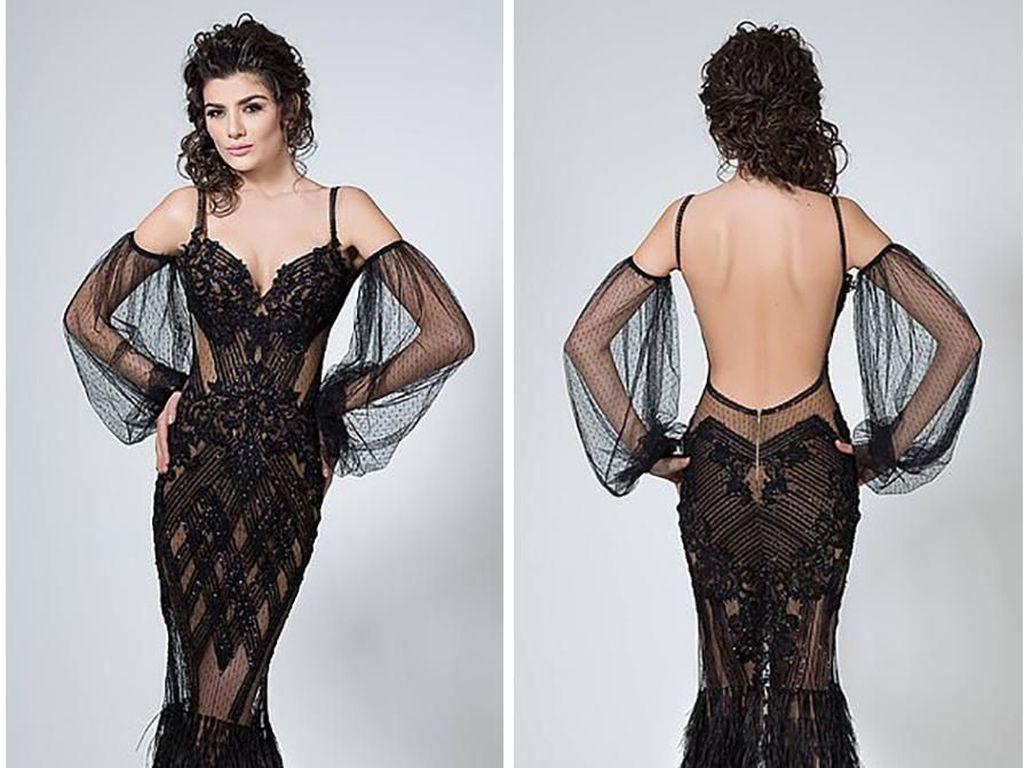 Desainer Tuai Kontroversi karena Buat Gaun Super Seksi Untuk Ibu Pengantin