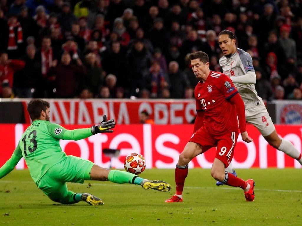 Tampil Kurang Galak, Bayern Pantas Kalah