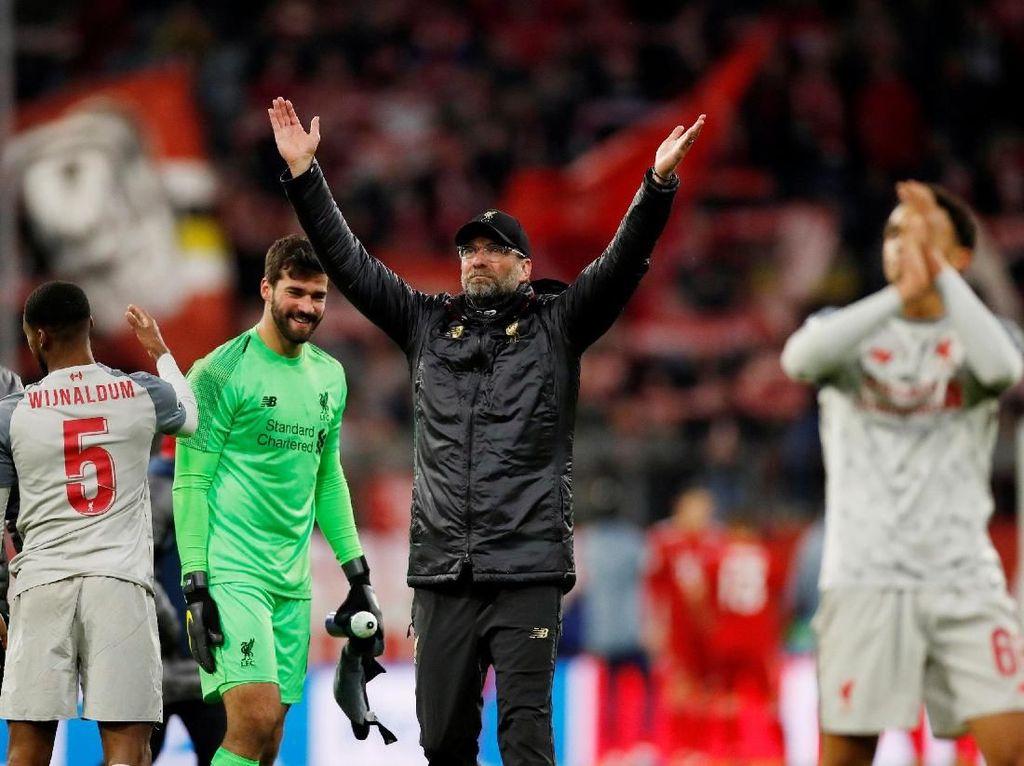 4 Pemain Liverpool di PFA Team of The Year, Klopp: Harusnya Ada 7 Lagi