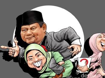 Blunder Emak-emak Prabowo-Sandi