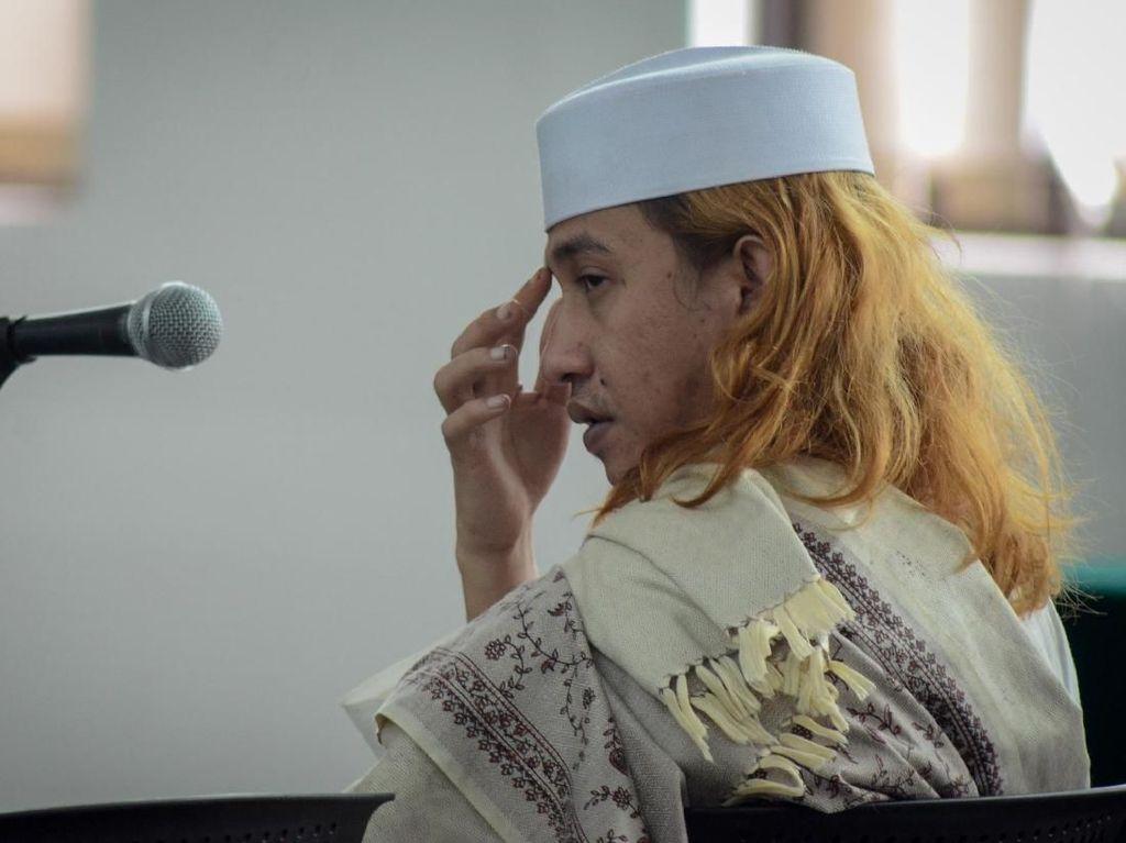 Ekspresi Bahar bin Smith yang Ancam Jokowi dengan Lidah Pedasnya