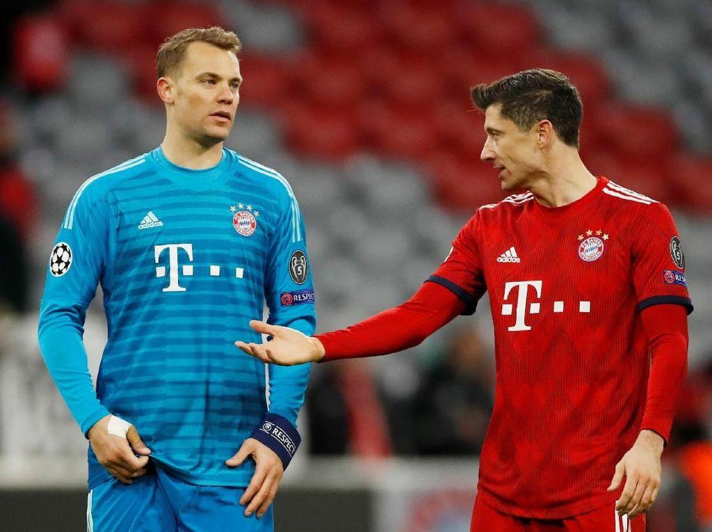 Kritik Gaya Main Bayern, Lewandowski: Terlalu Defensif dan Tak Ambil Risiko
