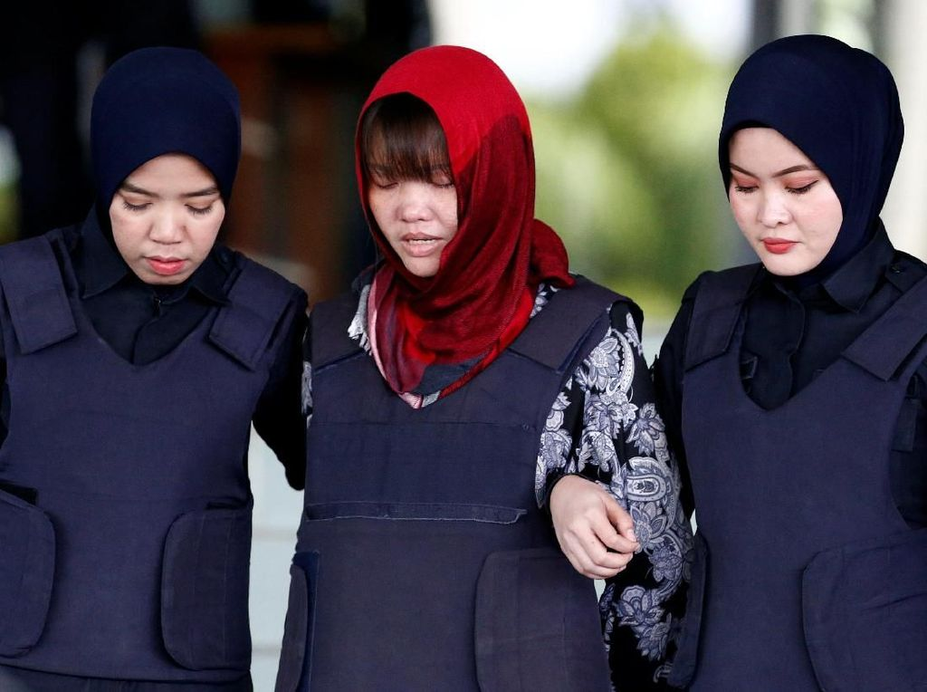Jaksa Tolak Cabut Dakwaan Pembunuhan Kim Jong-Nam, Doan Menangis