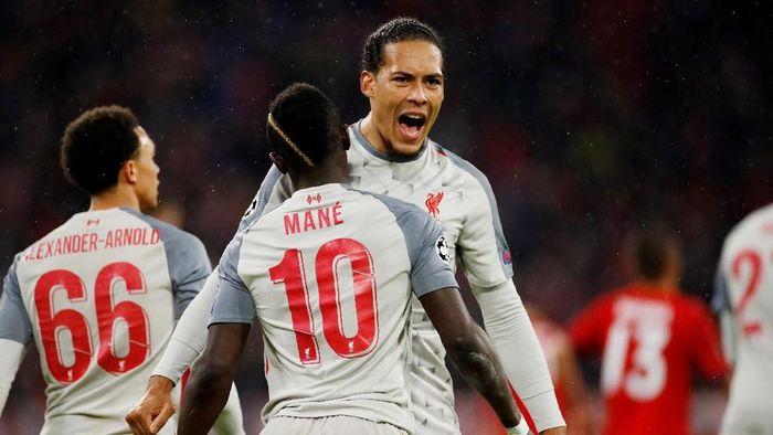 Bek Liverpool Virgil van Dijk menyebut Porto bukan lawan mudah (Foto: Action Images via Reuters / Andrew Boyers)