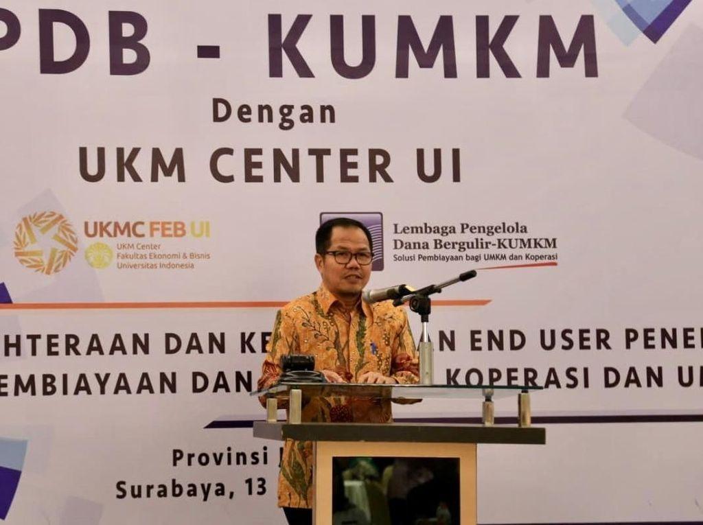 LPDB Gandeng UKM Center UI Untuk Mengukur Manfaat Dana Bergulir