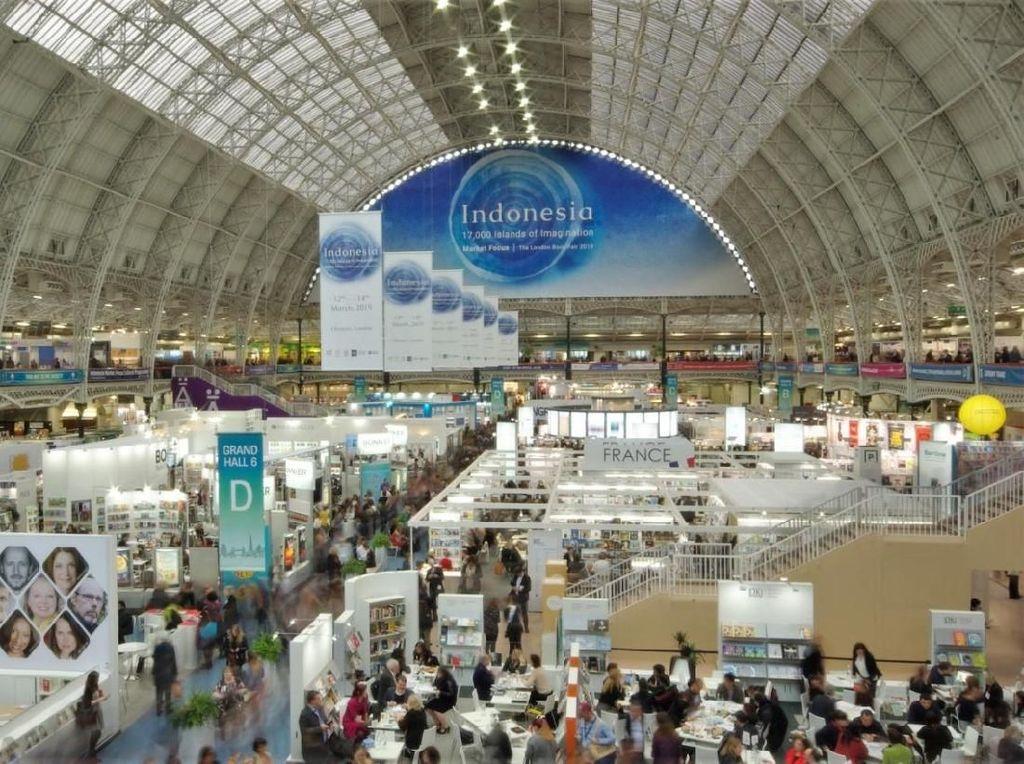 Hak Cipta 23 Judul Buku Indonesia Terjual di London Book Fair 2019