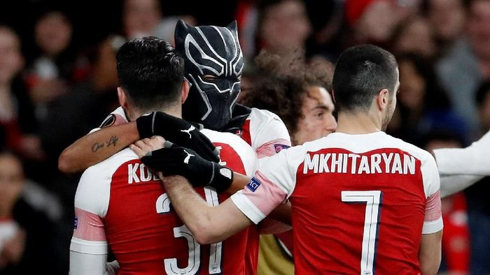 Jika bisa tampil seperti saat mengalahkan Manchester United, Arsenal diyakini bisa dapat tiket Liga Champions (David Klein/Reuters)