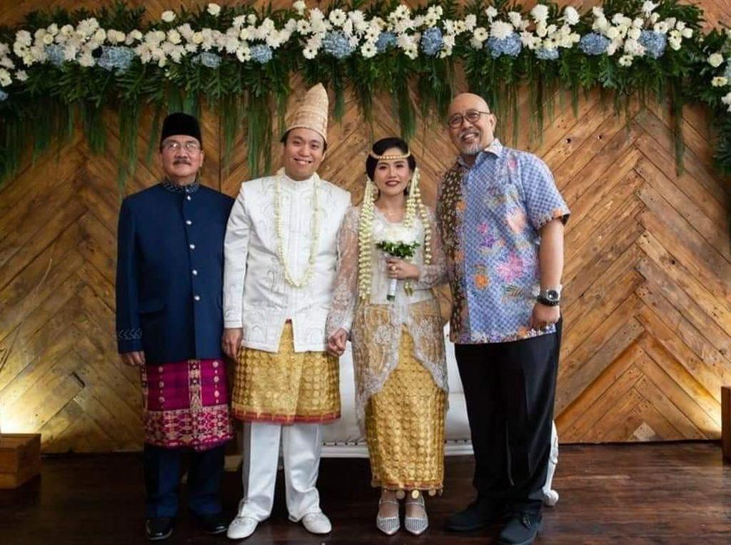 Pesan Haru Indro Warkop di Hari Pernikahan Anak Kedua Dono