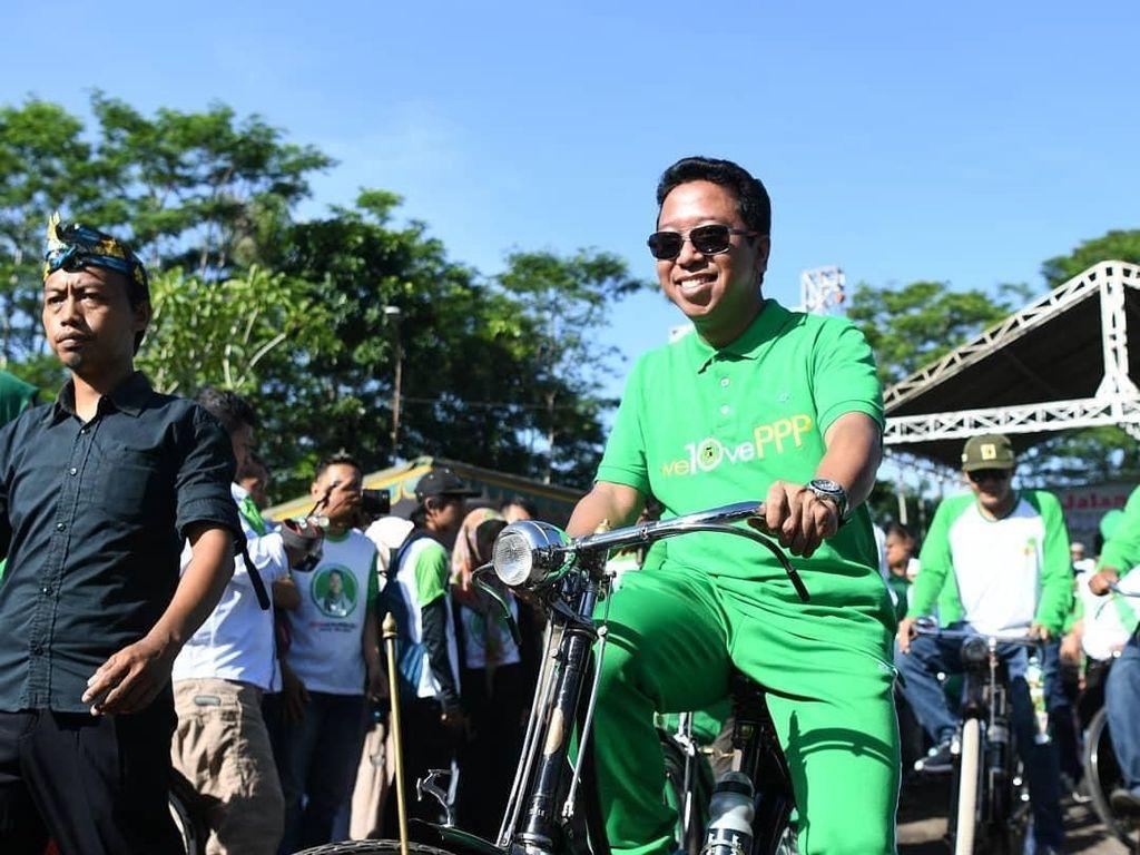 Ditangkap KPK, Romahurmuziy Sosok yang Gemar Bersepeda