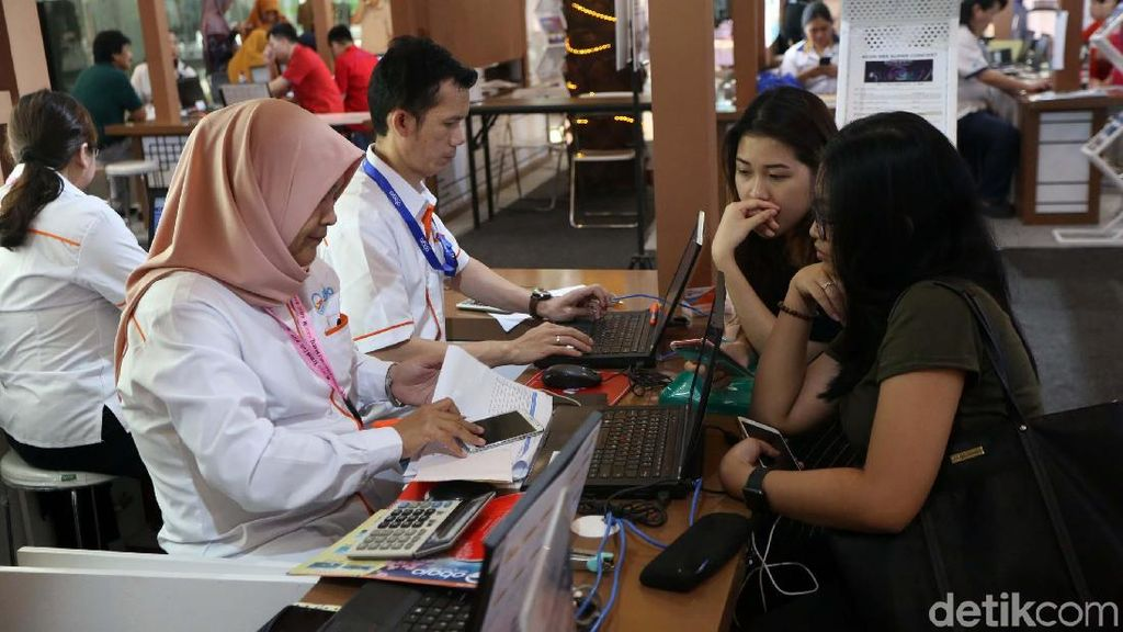 Mandiri Layani Korea Travel Fair