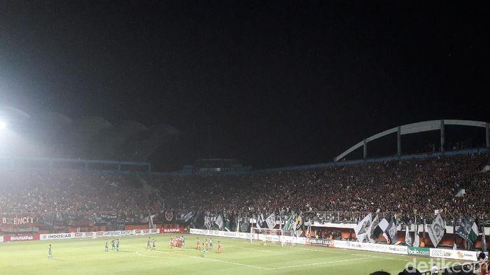 Stadion Maguwoharjo pada laga PSS Sleman di Piala Presiden 2019. (Foto: Ristu Hanafi/Detikcom)