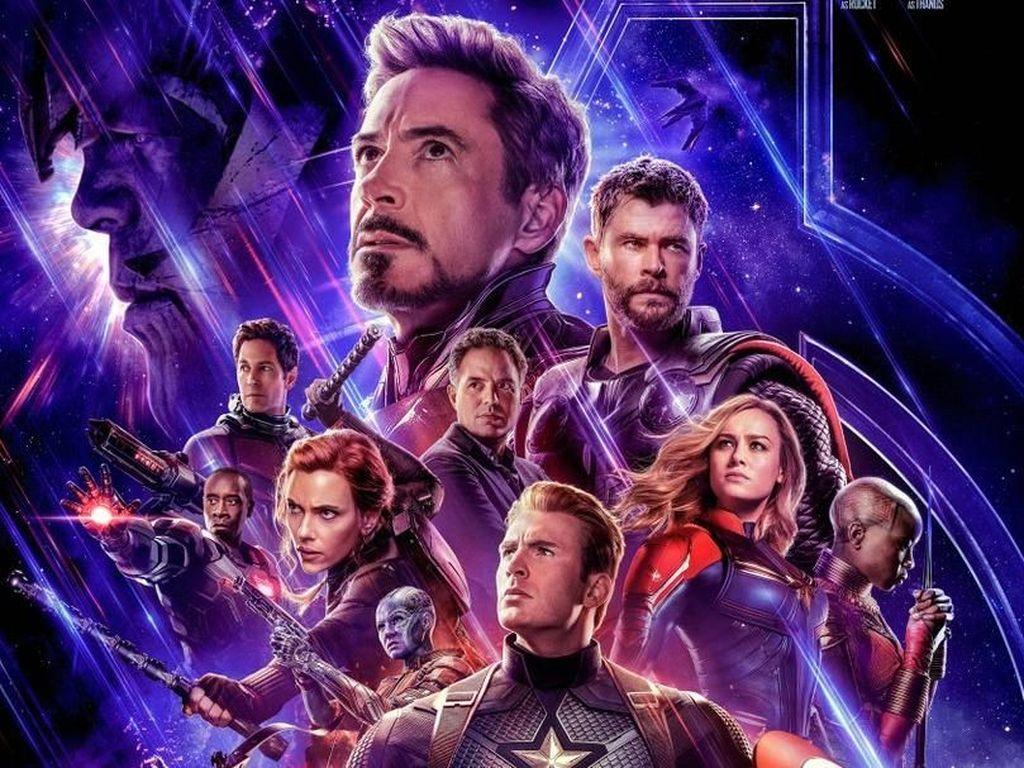 Meraba Kemampuan Captain Marvel untuk Kalahkan Thanos
