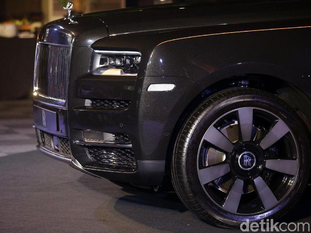 Mengaspal di Indonesia, Ini Tampang Sangar Rolls-Royce Cullinan
