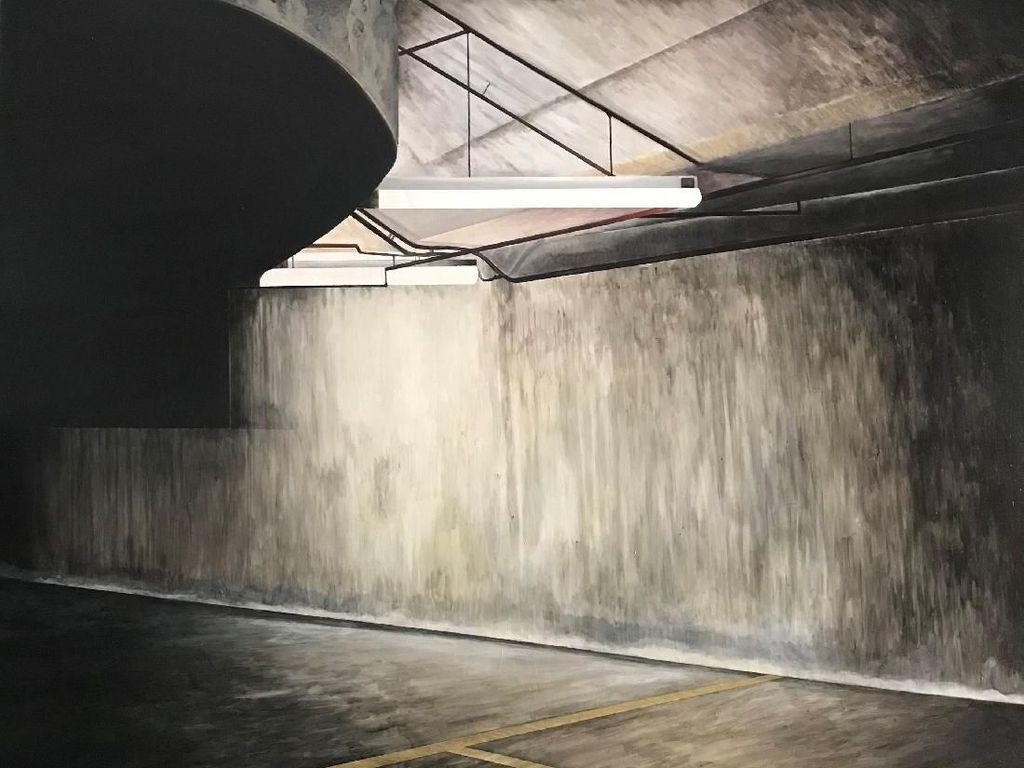 Lukisan tentang Harapan Antar Andy Dewantoro ke Sovereign Asian Art Prize 2019