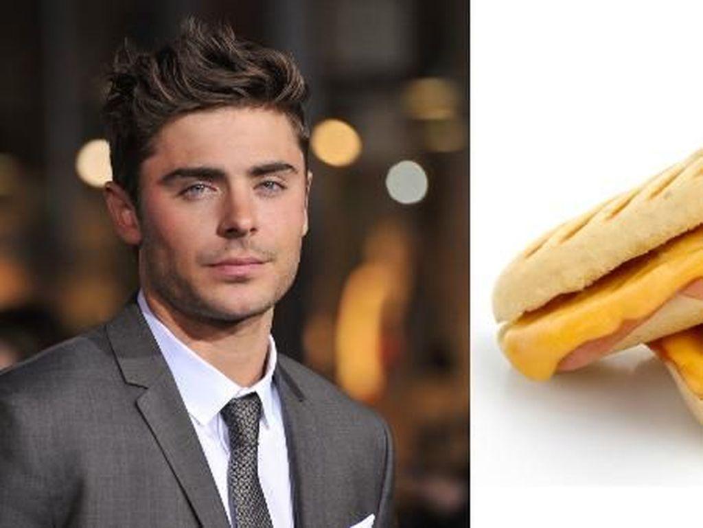 Gaya Potongan Rambut Zac Efron Ternyata Terinspirasi dari Sandwich Italia!