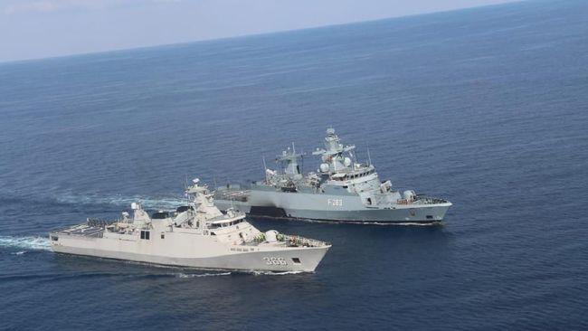 TNI AL dan Tentara Jerman Latihan Bersama di Laut Mediterania