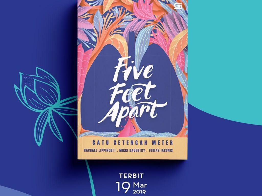 Novel Roman Five Feet Apart Terbit di Indonesia 19 Maret